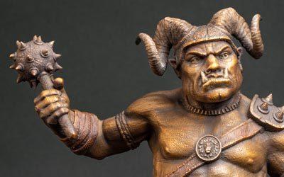 3D Printed Ogre