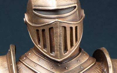 Higley Knight Small Bronze